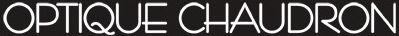 Optique Chaudron Charleroi - opticien spécialiste - logo homepage