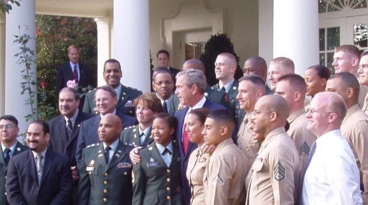 Matt on President Bush's communication team
