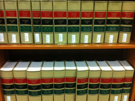 Frequent Reference Question: How Many Federal Laws Are There?