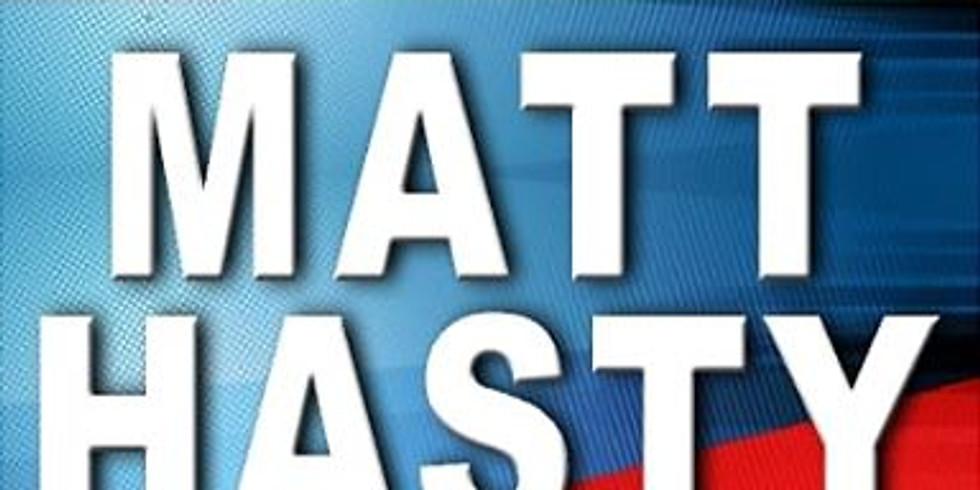 Matt Hasty For Congress meet and greet