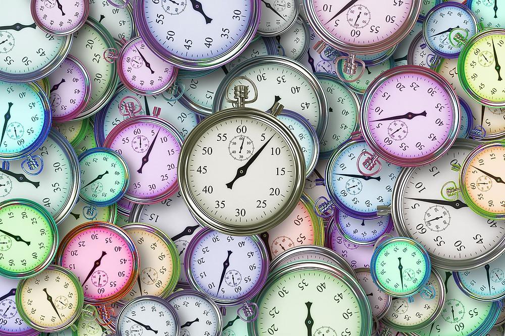 time clocks hours