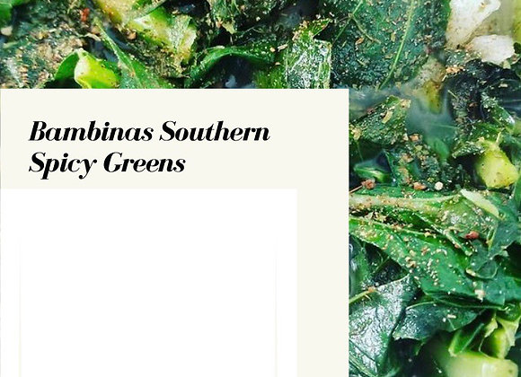 Bambinas Southern Spicy Greens Recipe