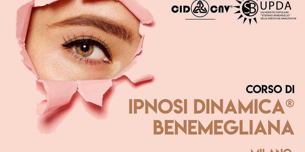 Corso di Ipnosi Dinamica® benemegliana • Lezione n°3 di 6