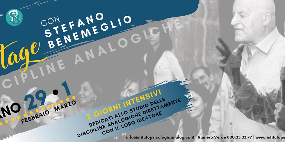 STAGE con Stefano Benemeglio