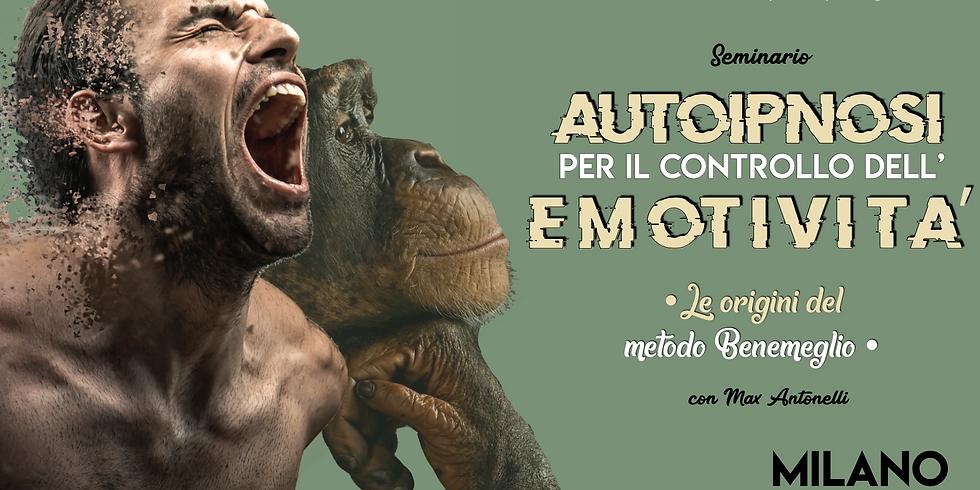 """Seminario """"AUTOIPNOSI PER IL CONTROLLO DELL'EMOTIVITÀ"""""""