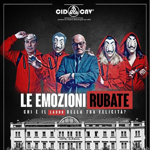 """DVD • """"LE EMOZIONI RUBATE"""" con S. Benemeglio"""