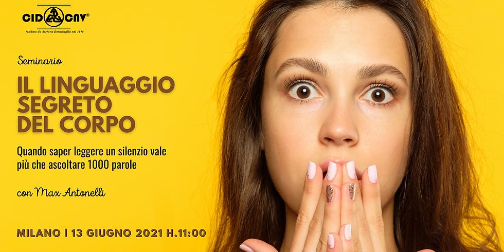 """Seminario """"IL LINGUAGGIO SEGRETO DEL CORPO"""""""