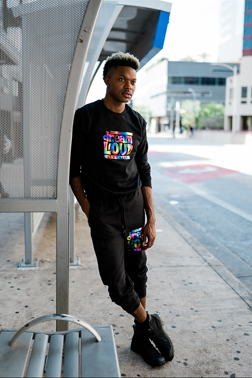 Dreamloud Multi Color ( Crew Neck and Sweat Pants)