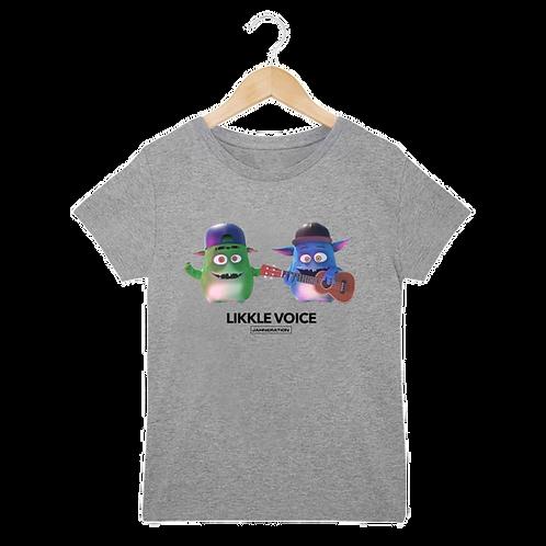 T-shirt Enfant   Likkle voice