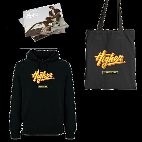 Pack | CD + Sweat + Tote bag Higher