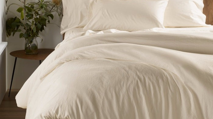300 TC Organic Sateen Duvet Cover