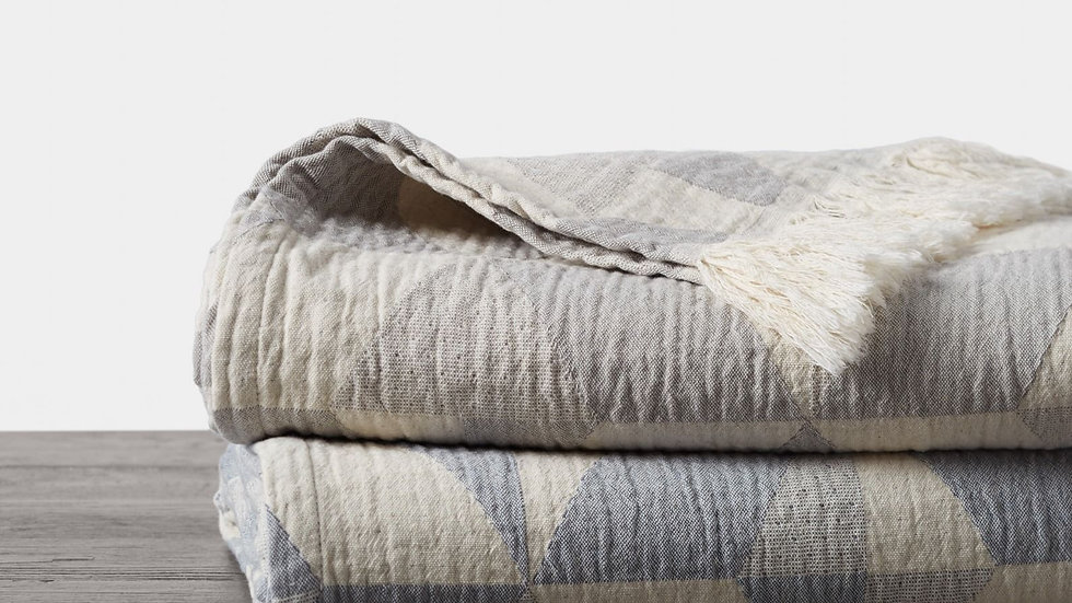 Pismo Organic Blanket and Throw