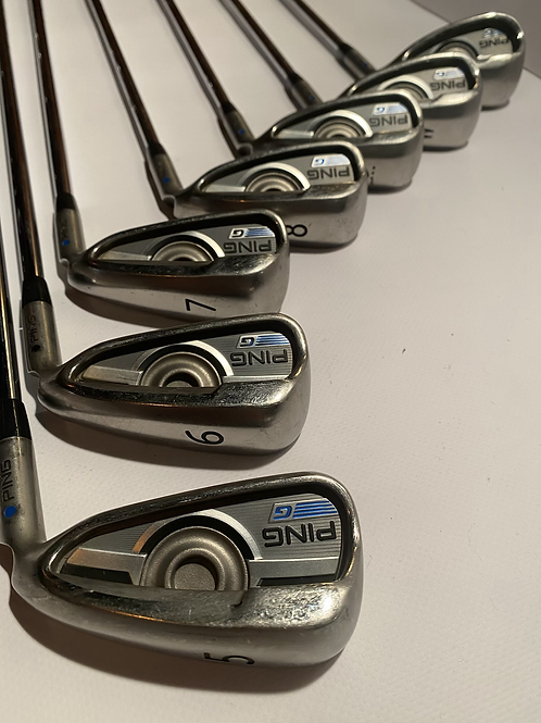 Ping G series irons 5-Sw