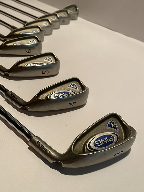 Ping G5 irons 3-SW