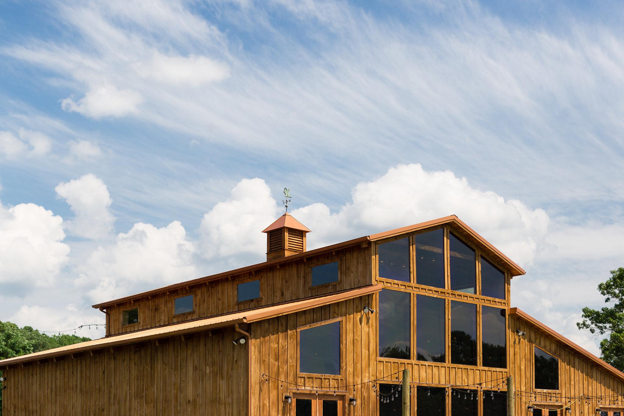 Faithbrooke Venue upper windows