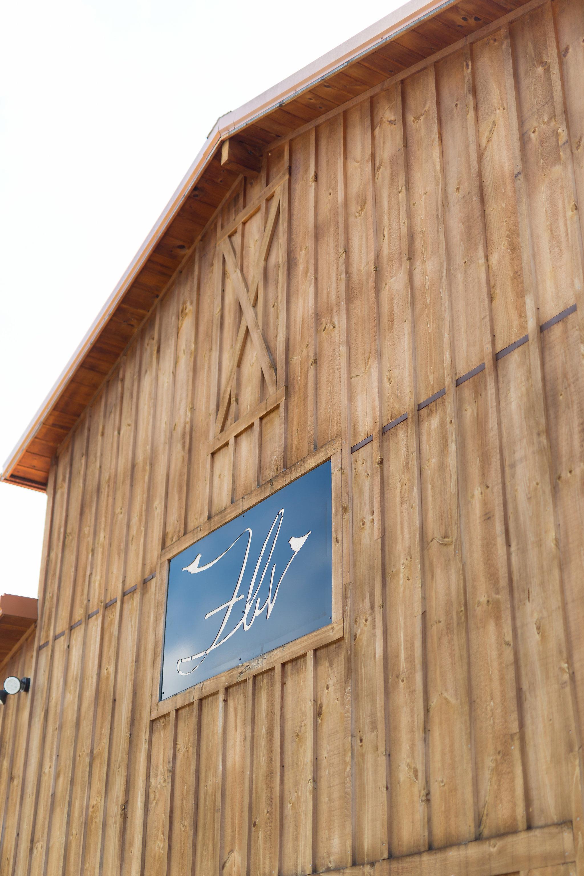 Faithbrooke Venue sign