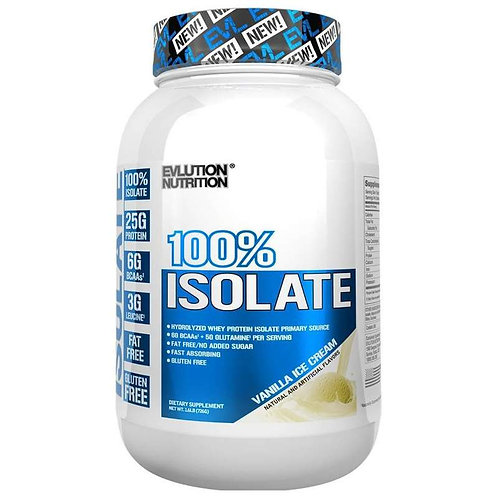 100% Isolate Protein 1.6lb