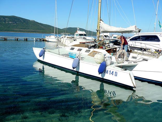 Barca a vela, Trimarano