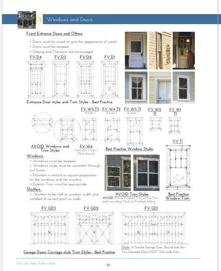 Door and Window Styles