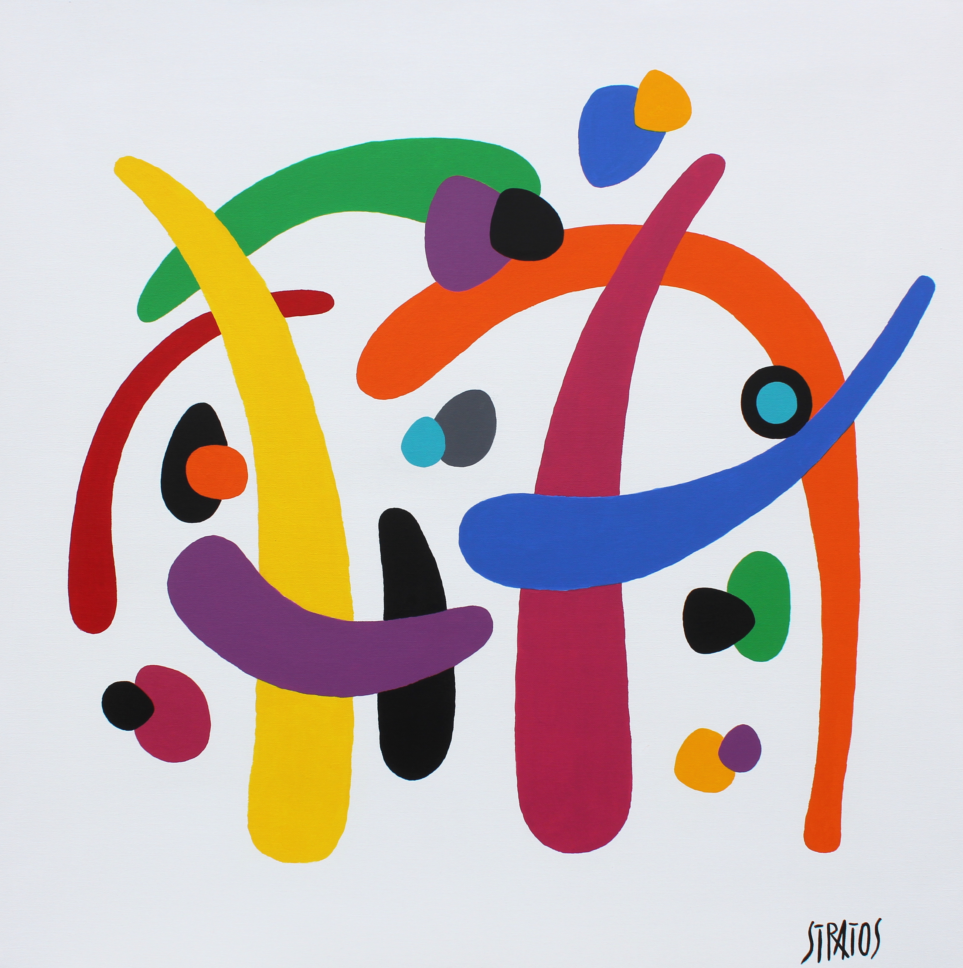 DFENDEZ MOI n°30 - 80 x 80 cm