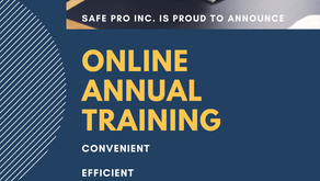 COMING SOON IN 2020: ONLINE ANNUAL REFRESHER