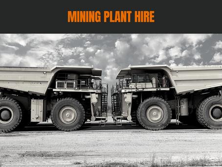 Mining Plant Hire