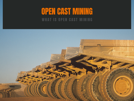 Open Cast Mining in South Africa