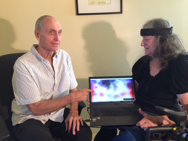 Glen Larsen does Quantum biofeedback, sound healing, aromatherapy and applied kinesiology
