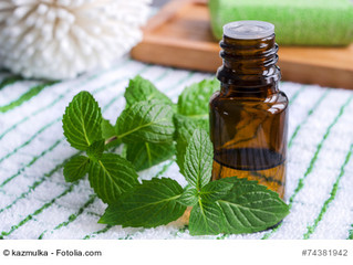 Peppermint: Refreshing, alleviating and soothing