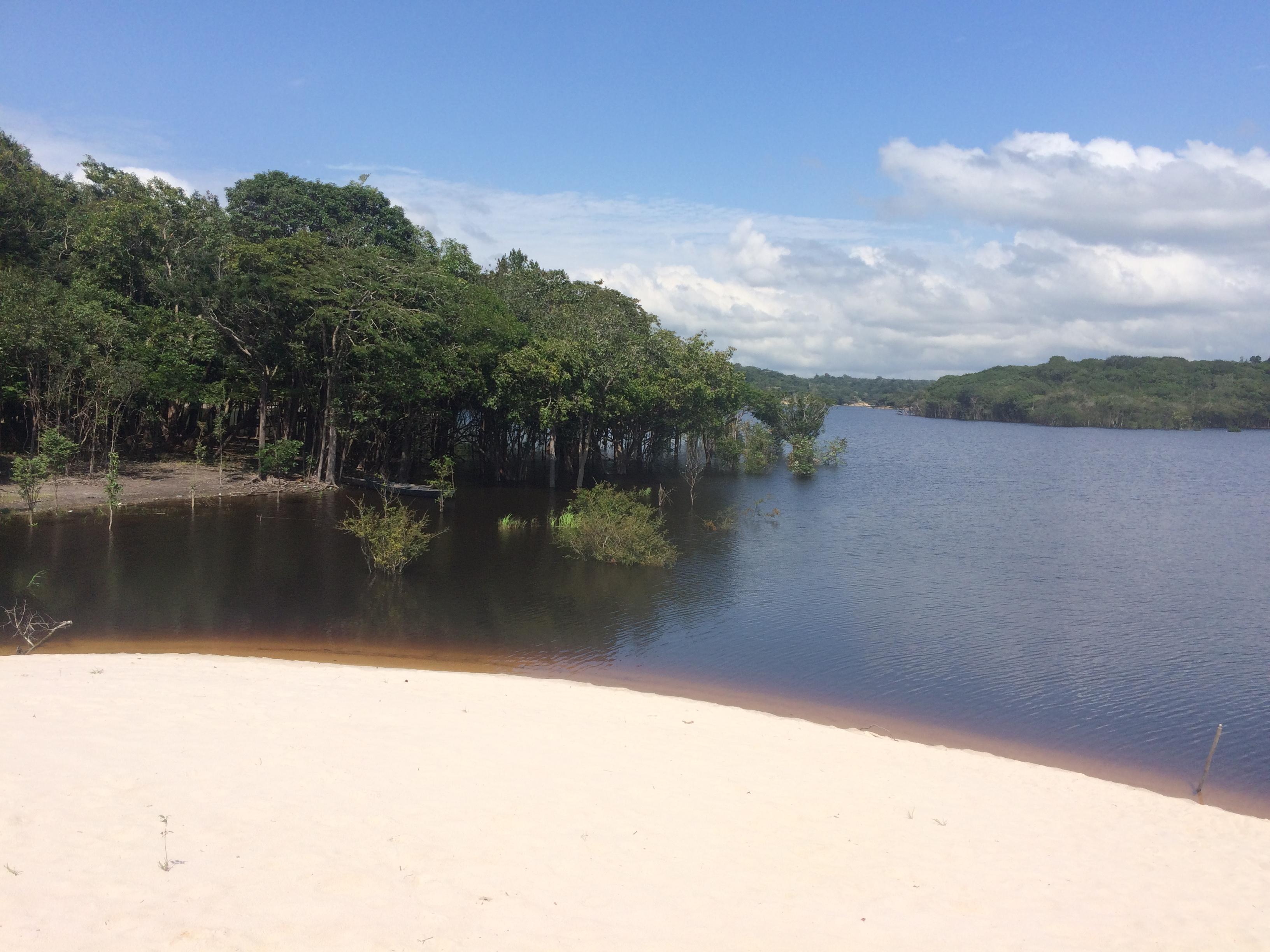 Praia do Tupé - Rota Sul
