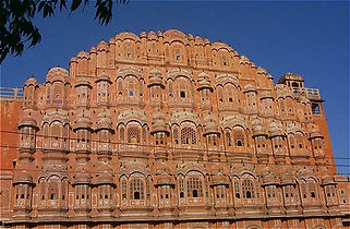 Wind Palace and city tour of Jaipur