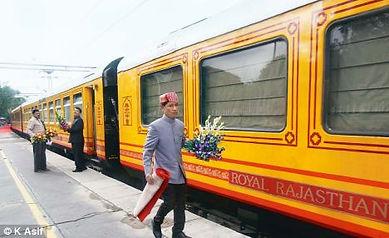 Royal Rajasthan on wheels Train Luxury traveling on train
