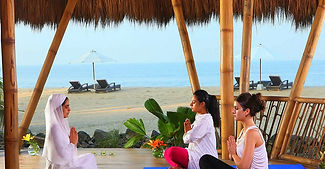 Marari Beach - Yoga and Meditation at Marari Beach hotel