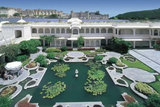 LillyPond - Taj Lake Palace Udaipur