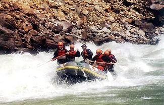 River rafting in Indus River in Leh