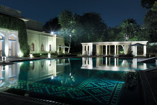 Outdoor-Pool - Taj Rambagh Jaipur