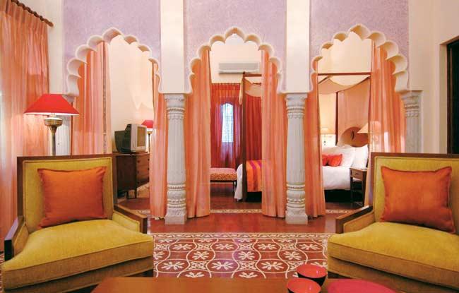 Room- Usha Kiran Palace Gwalior