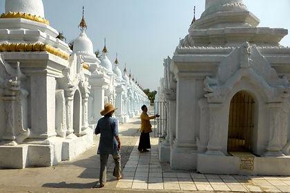 Kuthodaw Pagoda - Myanmar