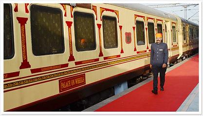 Palace on wheels, Luxury Gay travel to India