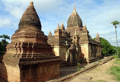 Gubyaukgyi Temple - Myanmar