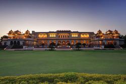 Palace Exterior - Taj Rambagh Palace