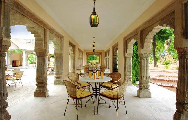 Varandah - Usha Kiran Palace Gwalior