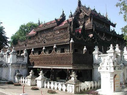 Shwenandaw Monastery - Myanmar