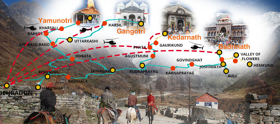 Chardham Yatra tours and travel packages