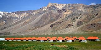 Sarchu Camping