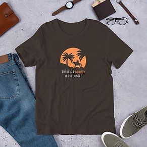 unisex-premium-t-shirt-brown-front-609c5