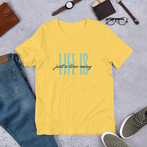 unisex-premium-t-shirt-yellow-front-609c