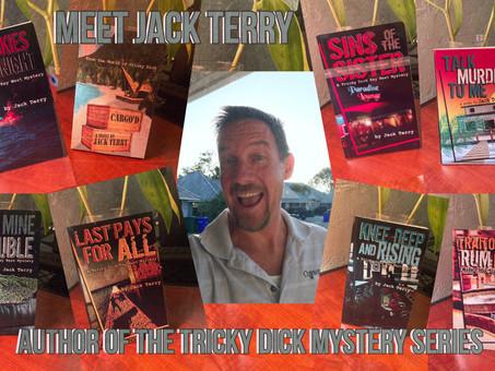Meet Author, Jack Terry:                                       Key West Murder Mystery Novelist
