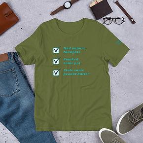 unisex-premium-t-shirt-olive-front-60d1f985cee1e.jpg