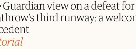 Guardian Editorial